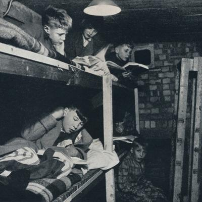 'Schoolboys' dormitory', 1941 by Cecil Beaton