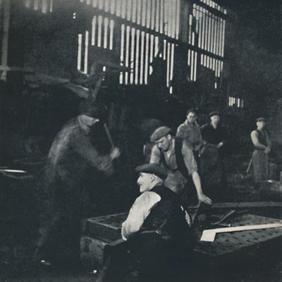 'Shipbuilding scene', 1941 by Cecil Beaton