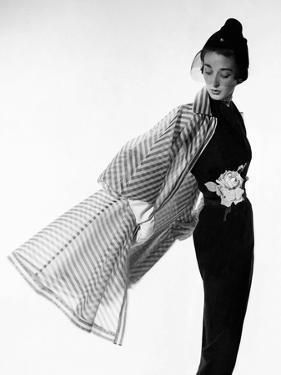 Vogue - April 1950 - Coat Flip by Cecil Beaton