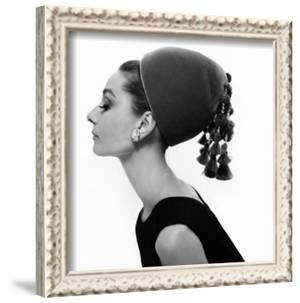 Vogue - August 1964 - Audrey Hepburn in Velvet Hat by Cecil Beaton