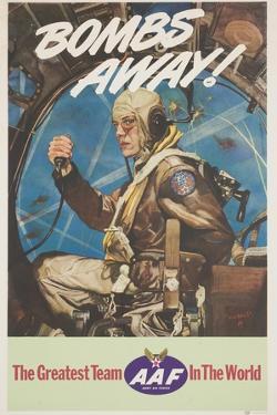 Bombs Away! Poster by Cecil Calvert Beall
