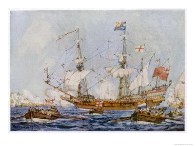 Built by Raleigh and Named the Ark Raleigh Purchased by Elizabeth and Renamed Ark Royal