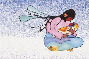 Joyous Motherhood by Cecil Youngfox