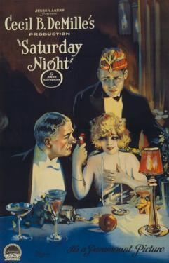 Cecille B. Demille's Saturday Night, c.1922
