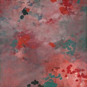 Blush Dappled Abstract by Cédric Chauvelot