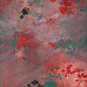 Blush Dappled Abstract by Cédric Chauvelot