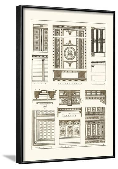 Ceilings with Visible Course of Beams-J. Buhlmann-Framed Art Print