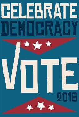 Celebrate Democracy (Blue)