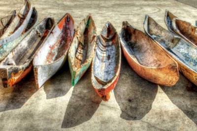 Canoes by Celebrate Life Gallery