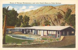 Celebrity Home, Palm Springs, California
