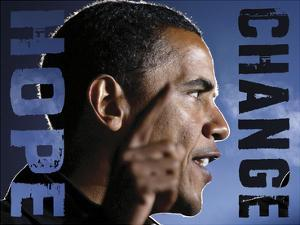 Barack Obama: Hope, Change by Celebrity Photography