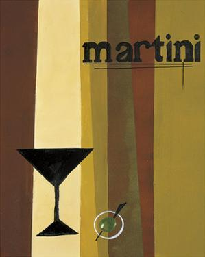 Groovy Martini I by Celeste Peters