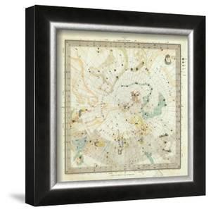 Celestial Anno 1830: No. 5. Circumjacent the North Pole, c.1844