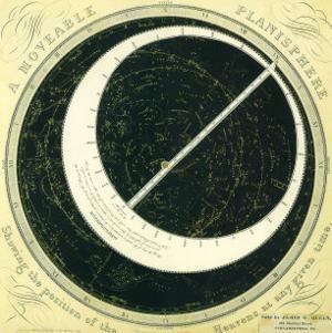 Celestial Planisphere, 1856