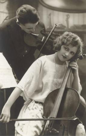 Cello and Violin Duet