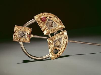 Annular Brooch, Ardagh Hoard, Reerasta, County Limerick, Viking Age (Silver-Gilt)