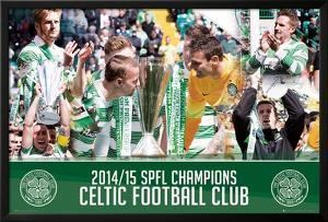 Celtic League Winners 14/15