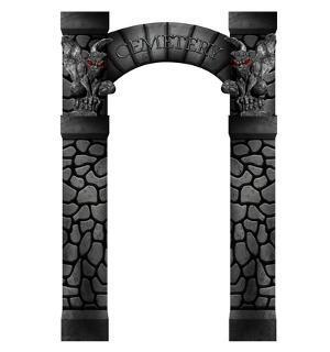 Cemetery Arch Entrance