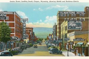 Center Street, Downtown Casper