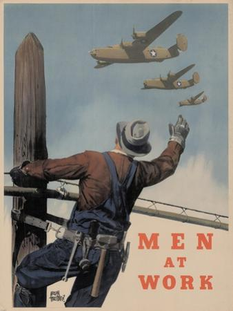 Center Warshaw Collection, Men At Work
