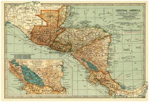 Central America - Panoramic Map