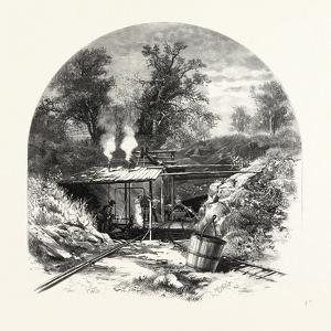 Central Ontario, Entrance to Iron Ore Mines, Madoc, Canada, Nineteenth Century