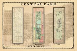 Central Park Development Composition1815-1885 - light, New York, United States, 2007