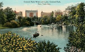 Central Park West, Lake, New York City