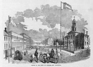 Centre of the Twon of Concord, New Hampshire.