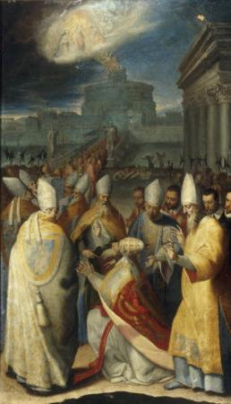 The Procession of Gregory the Great during the Plague in Rome