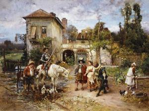 Don Quixote by Cesare-Auguste Detti
