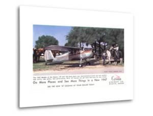 Cessna Airplane, c.1947