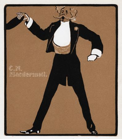 Ch Macdermott (1845-190), Music Hall Star, Late 19th Century
