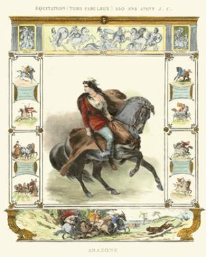 Equestrian Display II by Ch. Motte