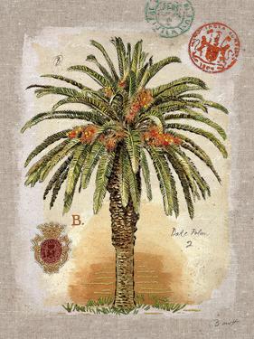 Linen Date Palm Tree by Chad Barrett