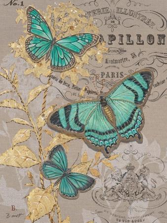 Linen Trio Gold by Chad Barrett