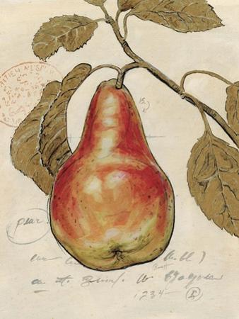 Pear Etching by Chad Barrett