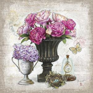 Vintage Estate Florals 1 by Chad Barrett