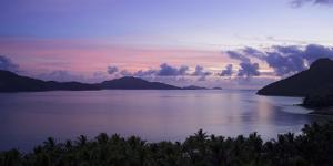 Sunrise Above the Whitsunday Island Archipelago by Chad Copeland