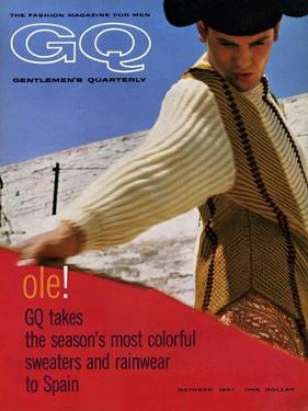 GQ Cover - October, 1961 by Chadwick Hall