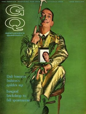 GQ Cover - October 1963 by Chadwick Hall