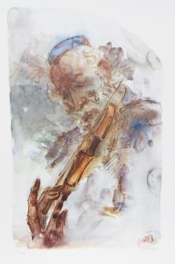 The Fiddler II by Chaim Gross