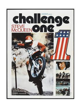 Challenge One, French poster, Steve McQueen, 1971