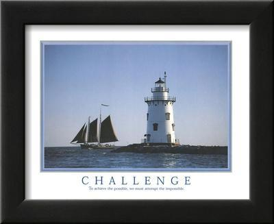 Challenge To Achieve the Possible Lighthouse Motivational