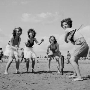 Beach Batting by Chaloner Woods