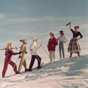 Skiing Party by Chaloner Woods