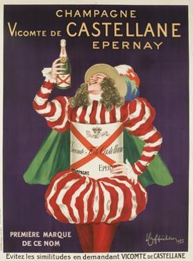 Champagne Castellane French Advertising Poster