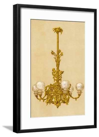 Chandelier, at Crys Pal--Framed Giclee Print