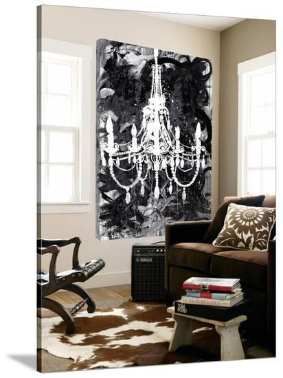 Chandelier Black and White-Kent Youngstrom-Loft Art