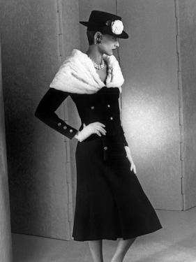 Chanel Fashion : Autumn-Winter 1983 : Model Ines De La Fressange